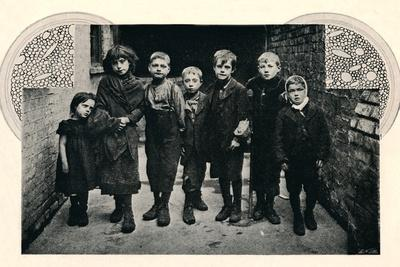 'A Group of the Aristocracy', 1901-Unknown-Framed Photographic Print
