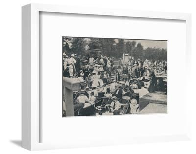 'Sunday Afternoon at Boulter's Lock, Maidenhead', 1901-Unknown-Framed Photographic Print