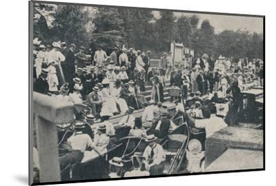 'Sunday Afternoon at Boulter's Lock, Maidenhead', 1901-Unknown-Mounted Photographic Print