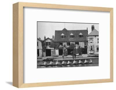 'The Boathouse After Reconstruction, 1909', 1935-Mr Mundy-Framed Photographic Print