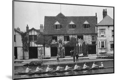 'The Boathouse After Reconstruction, 1909', 1935-Mr Mundy-Mounted Photographic Print