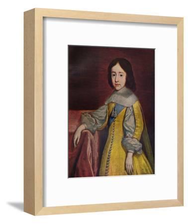 'King William III', 1657 (c1927)-Cornelis Janssens van Ceulen-Framed Giclee Print
