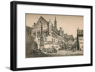 'Ulm', c1820 (1915)-Samuel Prout-Framed Giclee Print