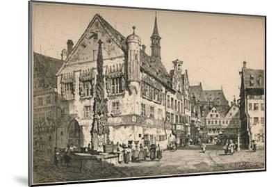 'Ulm', c1820 (1915)-Samuel Prout-Mounted Giclee Print