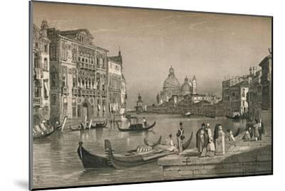 'Venice', c1830 (1915)-Samuel Prout-Mounted Giclee Print