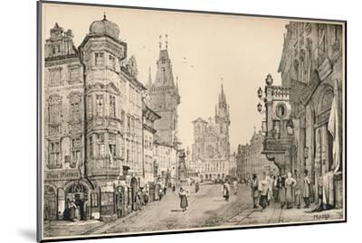 'Prague', c1820 (1915)-Samuel Prout-Mounted Giclee Print