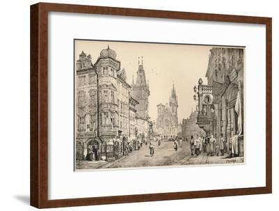 'Prague', c1820 (1915)-Samuel Prout-Framed Giclee Print