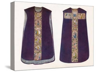 'English Work Chasuble circa 1300', 1912-Unknown-Stretched Canvas Print