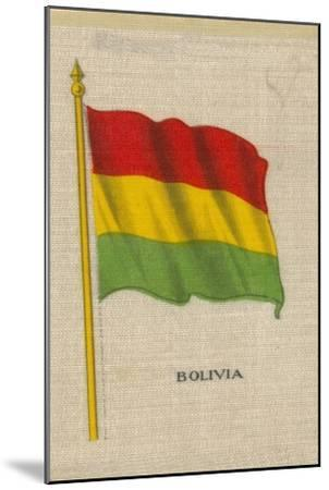 'Bolivia', c1910-Unknown-Mounted Giclee Print