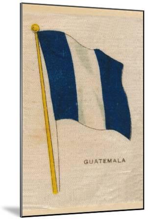 'Guatemala', c1910-Unknown-Mounted Giclee Print