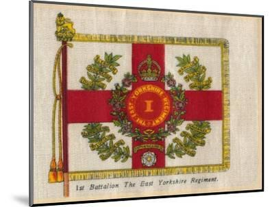 '1st Battalion The East Yorkshire Regiment', c1910-Unknown-Mounted Giclee Print