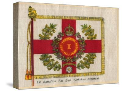 '1st Battalion The East Yorkshire Regiment', c1910-Unknown-Stretched Canvas Print