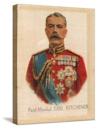 'Field Marshal Earl Kitchener', c1910-Unknown-Stretched Canvas Print