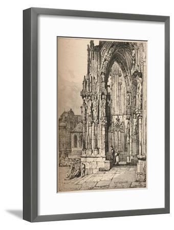 'Ratisbon', c1820 (1915)-Samuel Prout-Framed Giclee Print