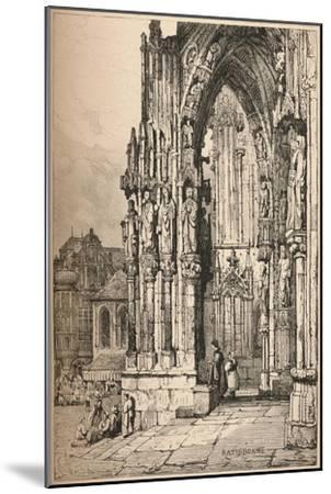 'Ratisbon', c1820 (1915)-Samuel Prout-Mounted Giclee Print