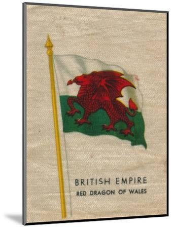 'British Empire - Red Dragon of Wales', c1910-Unknown-Mounted Giclee Print
