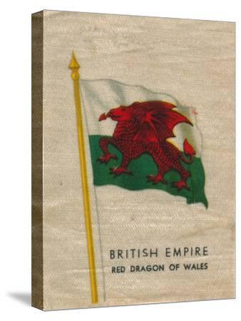 'British Empire - Red Dragon of Wales', c1910-Unknown-Stretched Canvas Print