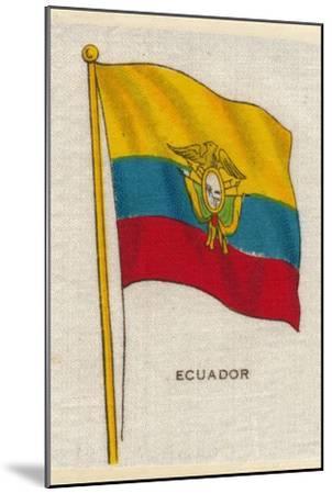 'Ecuador', c1910-Unknown-Mounted Giclee Print