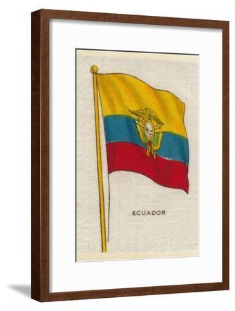 'Ecuador', c1910-Unknown-Framed Giclee Print