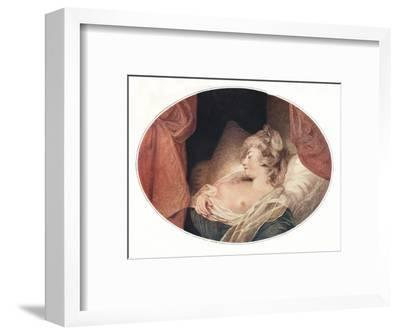 'Fancy Subject', 18th century, (1911)-Unknown-Framed Giclee Print