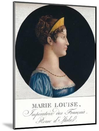 Marie Louise, Empress of the French, Queen Consort of Italy', c19th century (1912)-Unknown-Mounted Giclee Print