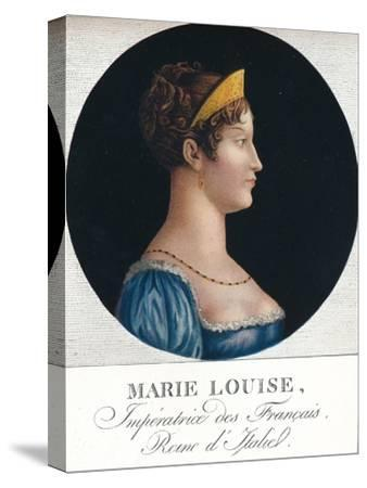 Marie Louise, Empress of the French, Queen Consort of Italy', c19th century (1912)-Unknown-Stretched Canvas Print