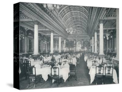 'The Grand Salle A Manger', (Dining Room), 1912-Unknown-Stretched Canvas Print