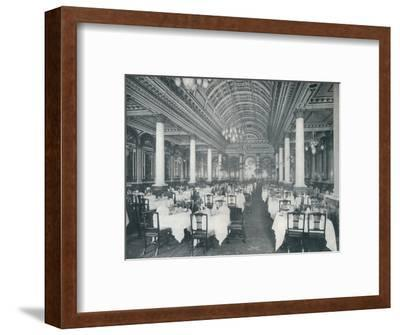 'The Grand Salle A Manger', (Dining Room), 1912-Unknown-Framed Photographic Print