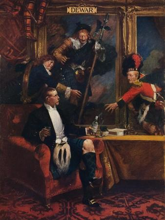 'Dewar's Whisky', 1912-Unknown-Framed Giclee Print