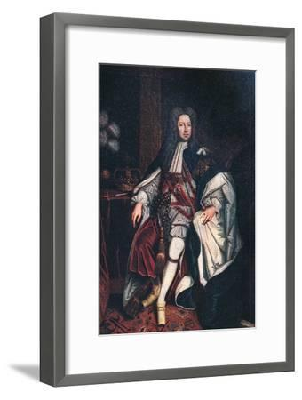 'King George II', 1744, (1911)-Unknown-Framed Giclee Print