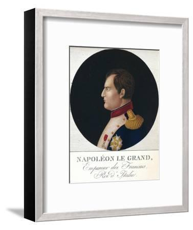 'Napoleon Bonaparte, Emperor of the French, King of Italy', c19th century (1912)-Unknown-Framed Giclee Print