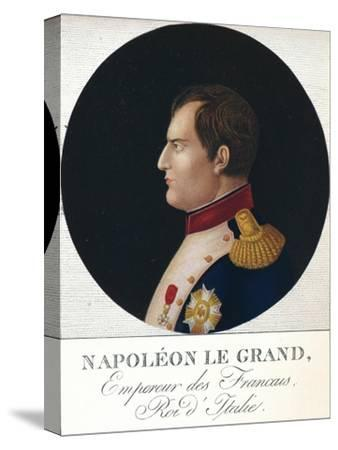'Napoleon Bonaparte, Emperor of the French, King of Italy', c19th century (1912)-Unknown-Stretched Canvas Print