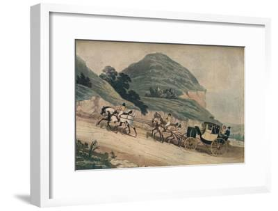 'The Newly Elected M.P.', 1835, (1911)-Unknown-Framed Giclee Print