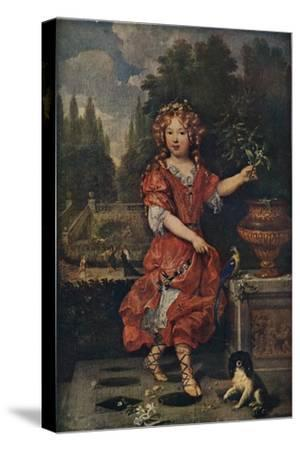 'Portrait of a Young Princess', c19th century, (1911)-Unknown-Stretched Canvas Print