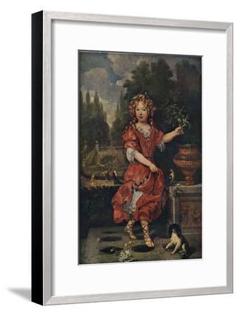 'Portrait of a Young Princess', c19th century, (1911)-Unknown-Framed Giclee Print