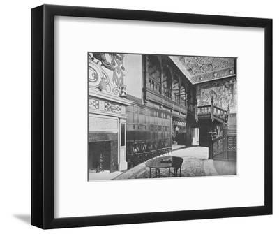 'Hurstbourne Park - The Earl of Portsmouth', 1910-Unknown-Framed Photographic Print