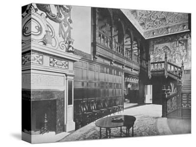 'Hurstbourne Park - The Earl of Portsmouth', 1910-Unknown-Stretched Canvas Print