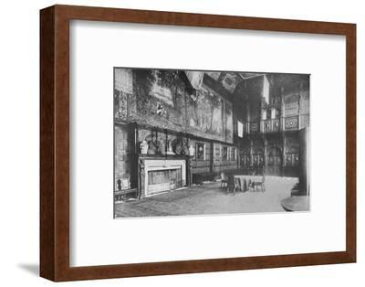 'Hatfield House, Herts - The Marquis of Salisbury', 1910-Unknown-Framed Photographic Print