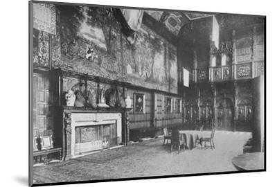 'Hatfield House, Herts - The Marquis of Salisbury', 1910-Unknown-Mounted Photographic Print