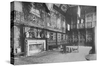 'Hatfield House, Herts - The Marquis of Salisbury', 1910-Unknown-Stretched Canvas Print