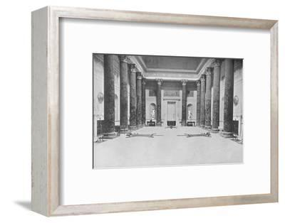 'Kedleston, Derby - The Rev. The Lord Scarsdale', 1910-Unknown-Framed Photographic Print