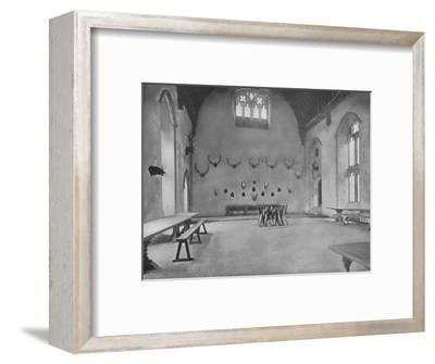 'Penshurst Place, Kent - Lord De L'Isle and Dudley', 1910-Unknown-Framed Photographic Print
