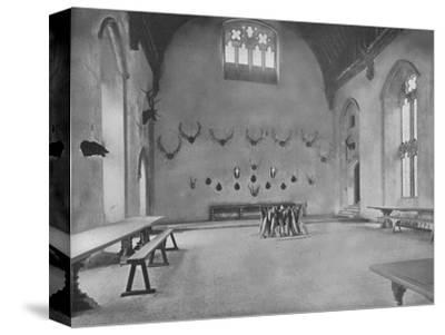 'Penshurst Place, Kent - Lord De L'Isle and Dudley', 1910-Unknown-Stretched Canvas Print