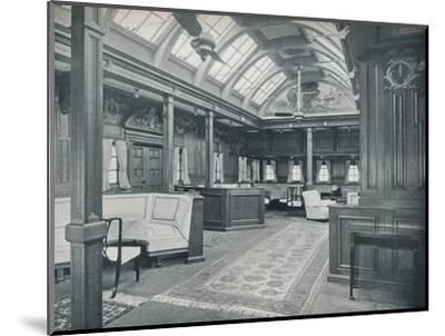 'The Royal Smoking Room', 1911-Unknown-Mounted Photographic Print