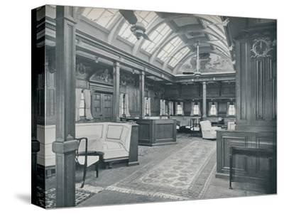 'The Royal Smoking Room', 1911-Unknown-Stretched Canvas Print