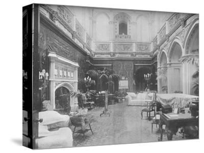 'Highclere Castle, Hampshire - The Earl of Carnarvon', 1910-Unknown-Stretched Canvas Print