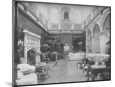 'Highclere Castle, Hampshire - The Earl of Carnarvon', 1910-Unknown-Mounted Photographic Print