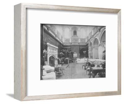 'Highclere Castle, Hampshire - The Earl of Carnarvon', 1910-Unknown-Framed Photographic Print