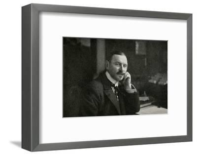 'Sir George Hastings', 1911-Unknown-Framed Photographic Print