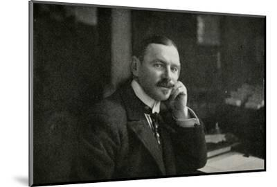 'Sir George Hastings', 1911-Unknown-Mounted Photographic Print